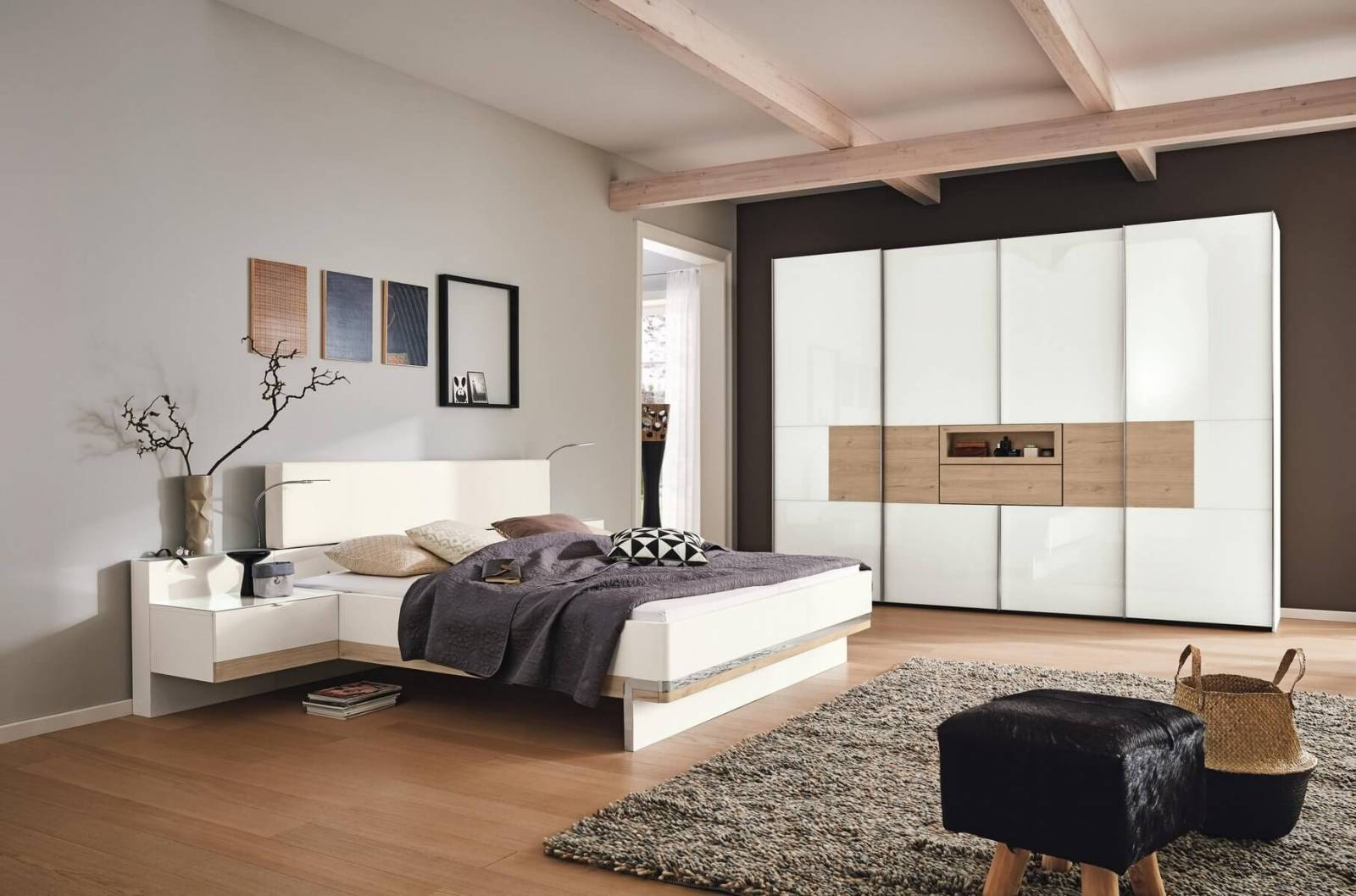 quelles couleurs dans ma chambre coucher magasin de meubles design et d coration d. Black Bedroom Furniture Sets. Home Design Ideas